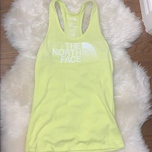 The North Face yellow tank